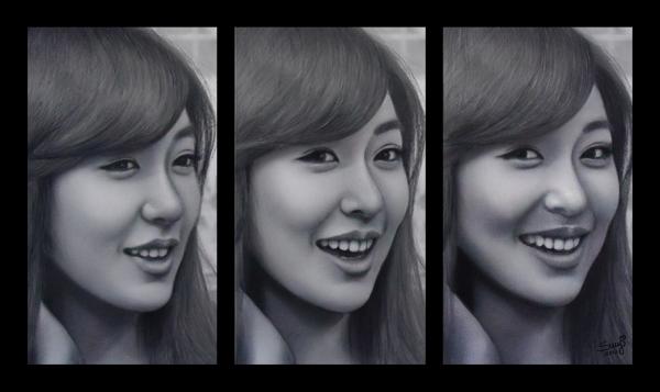 Tiffany Hwang par Sury